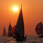 A14Sunset_Boats